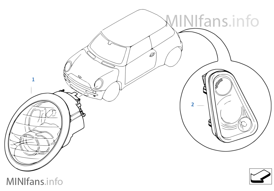 Mini R53 Coupe Cooper S Ece Engine Electrical System Various Wiring