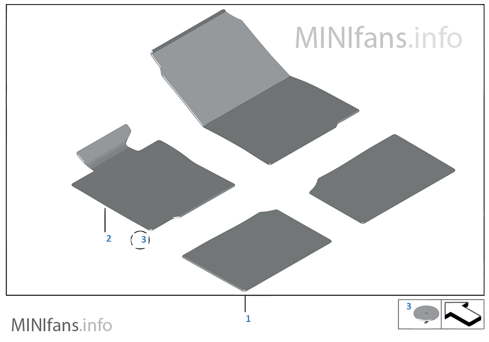 tapis de sol velours mini mini cabrio r52 cooper w10 l 39 europe. Black Bedroom Furniture Sets. Home Design Ideas