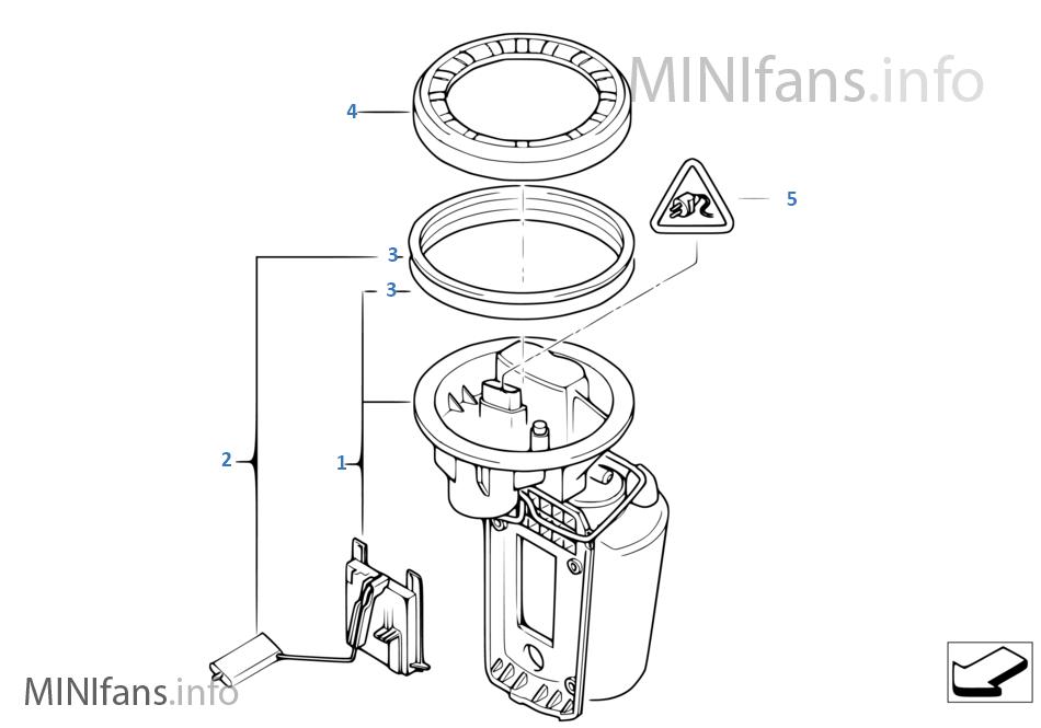 Fuel pump and fuel level sensor