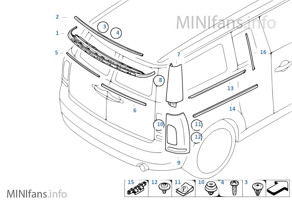 Mod Mini Cooper S R56
