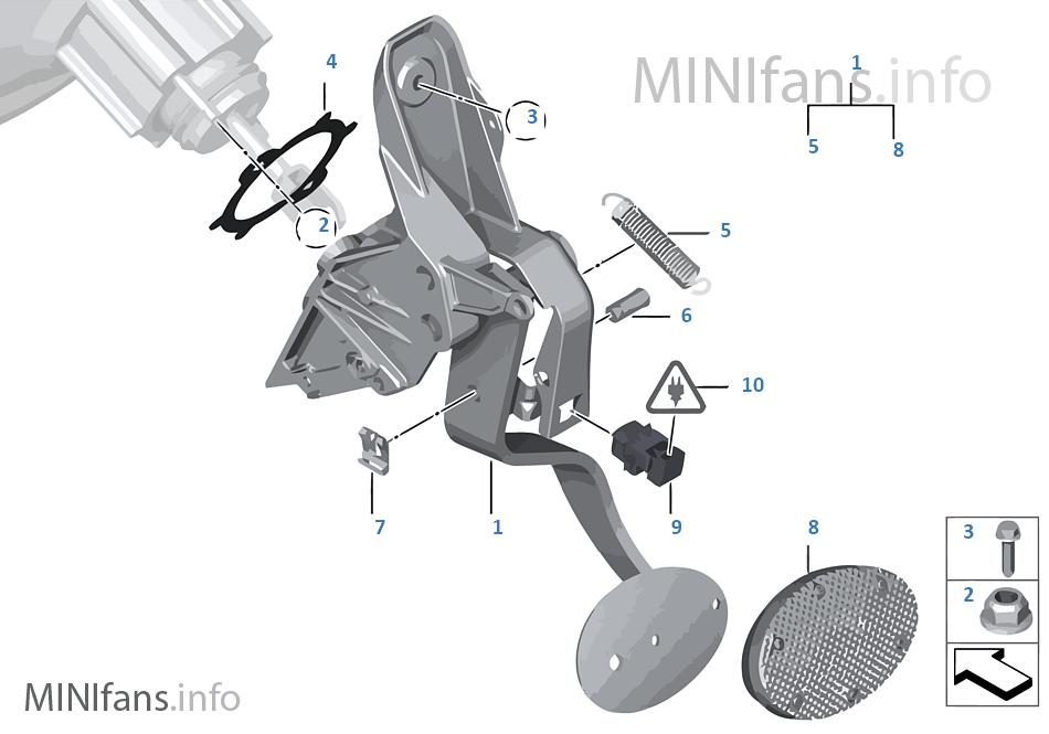 Mecanismo de pedales