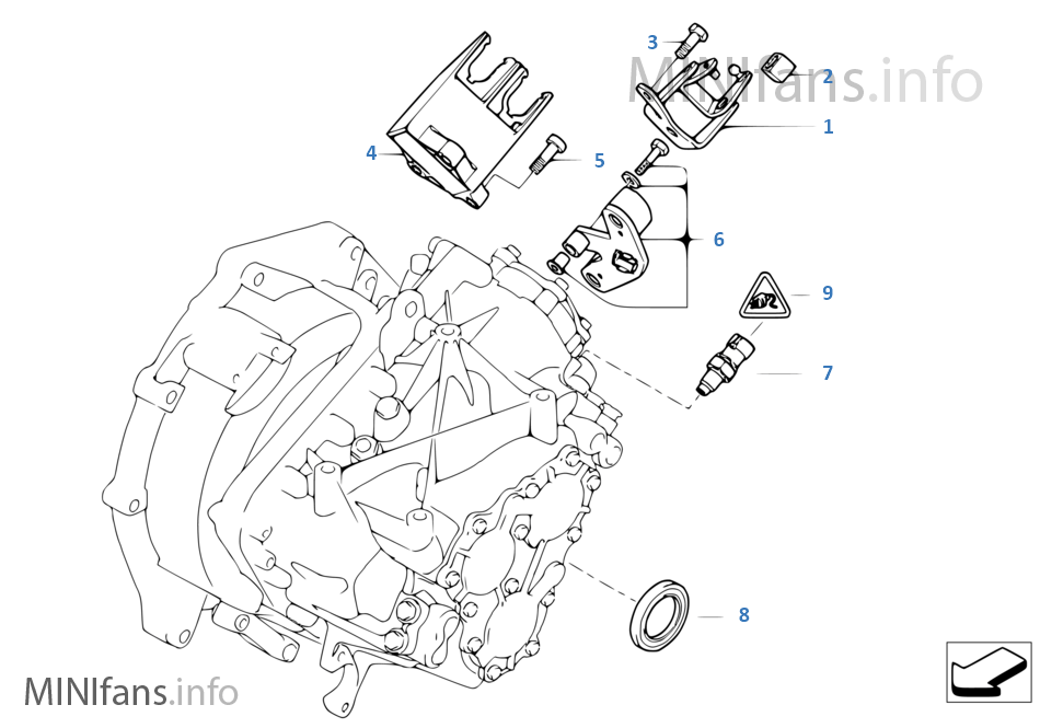 Mini Cooper Transmission Diagram