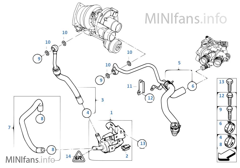 32 Mini Cooper Cooling System Diagram