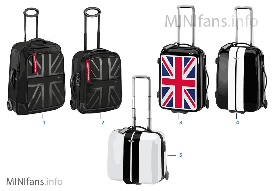 MINI Bags - Trolleys - 2010/2011