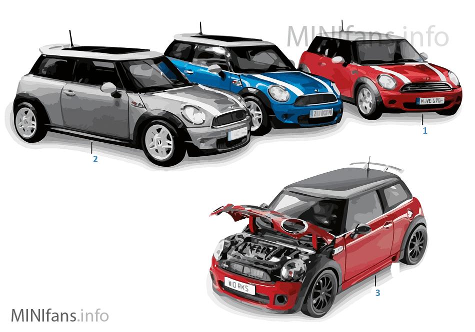 Miniaturen - MINI Cooper 2010/2011