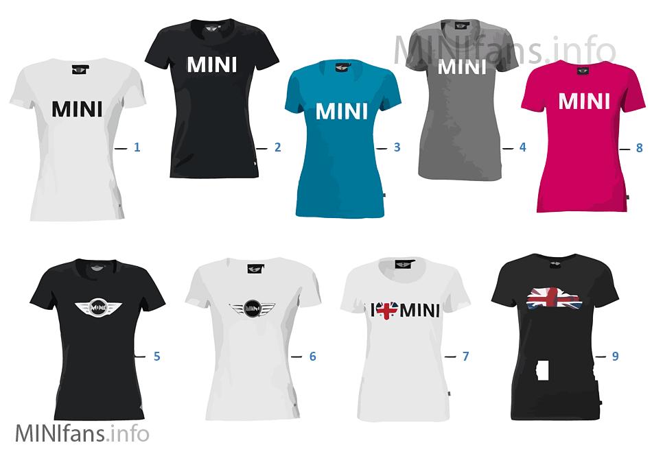 MINI Logo Line - Damen T-Shirt 2011/12