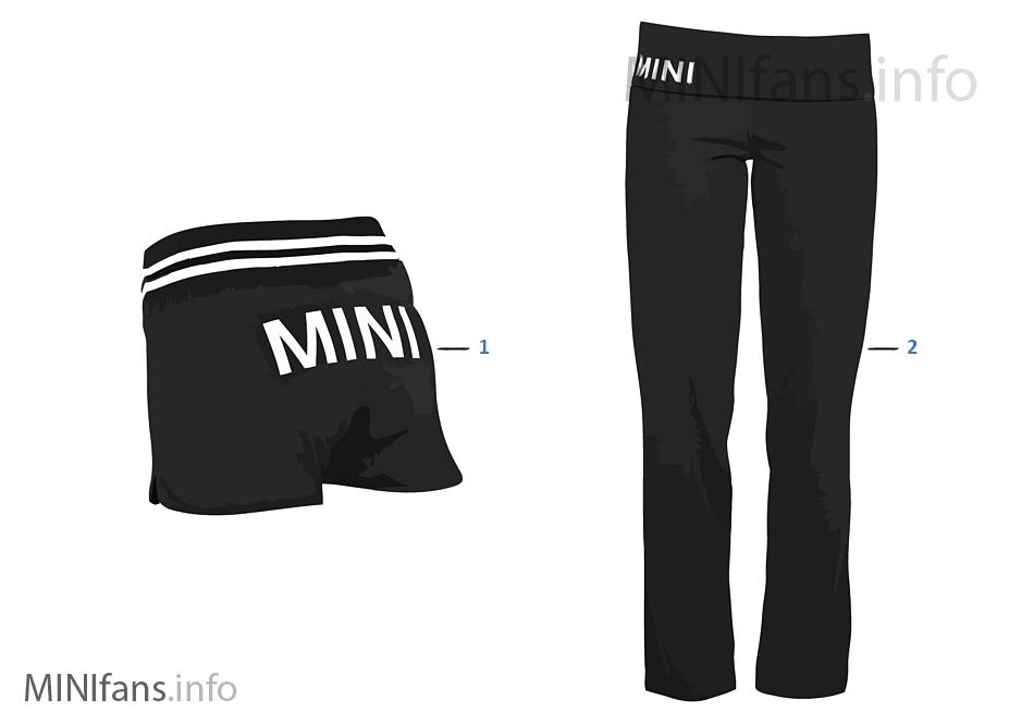 MINI Logo Line - Damen Pants 2011/12