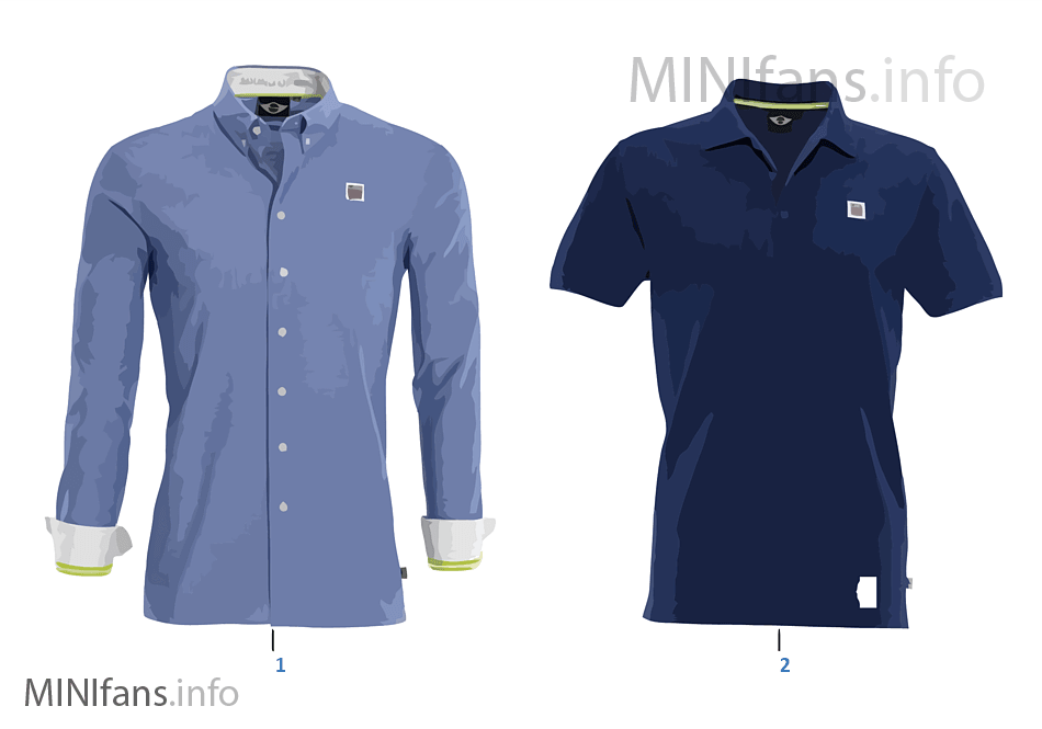 MINI Collection men's polo shirt 2012/13