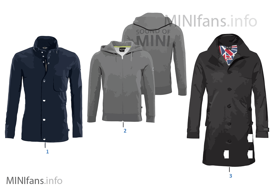 Colec. MINI cab. chaqueta/chaleco 12/13
