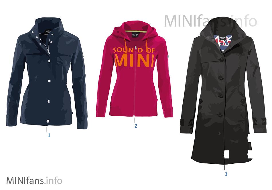 Colec. MINI sra. chaqueta/chaleco 12/13