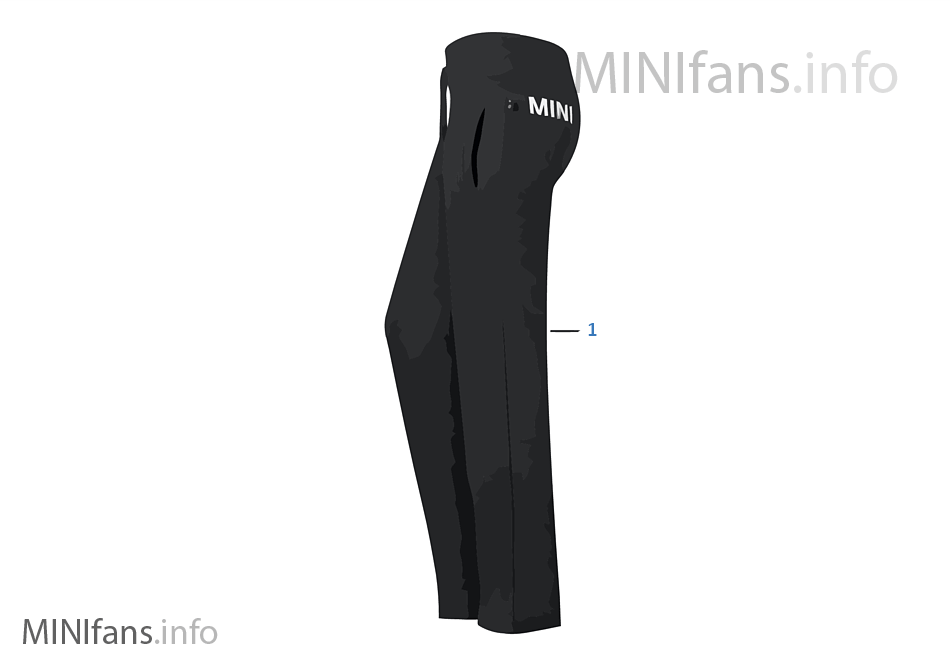Logotipo MINI Line sra. pants 2012/13