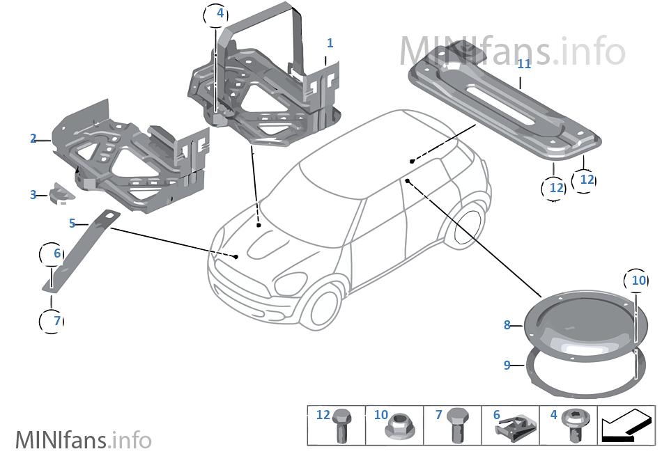 Montagedelen carrosserie