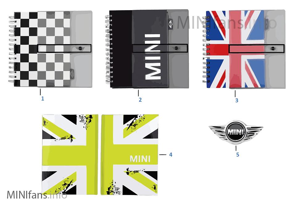 MINI Essentials calend./notebooks 13/14