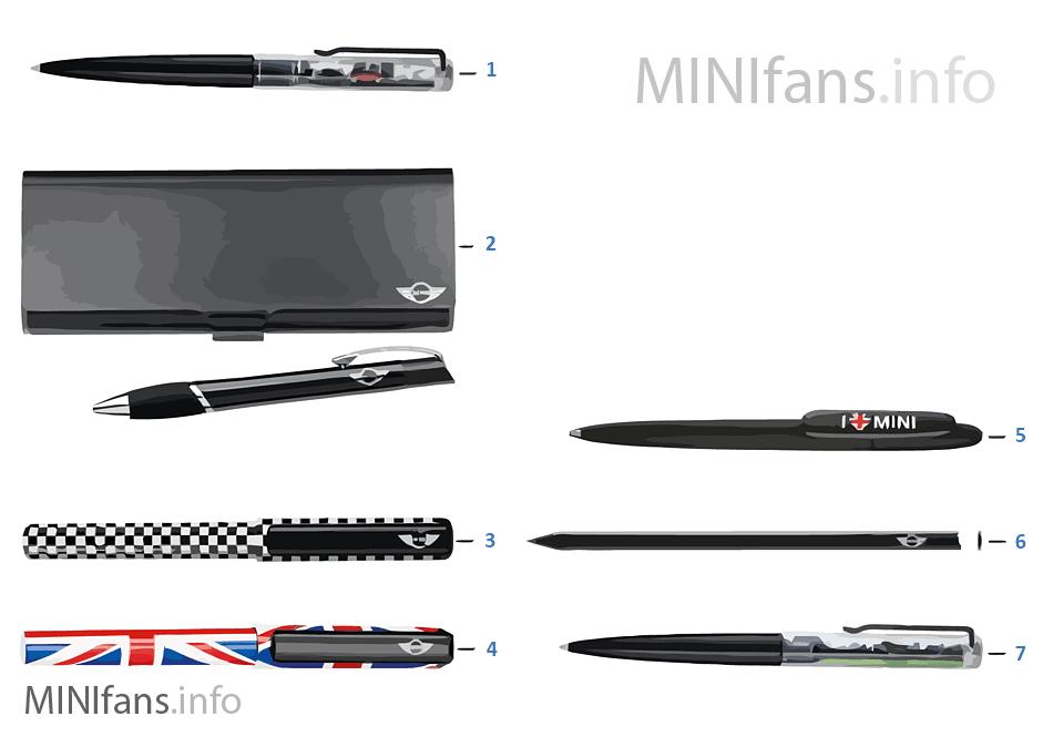 MINI Essentials bolígr./rotulad. 13/14