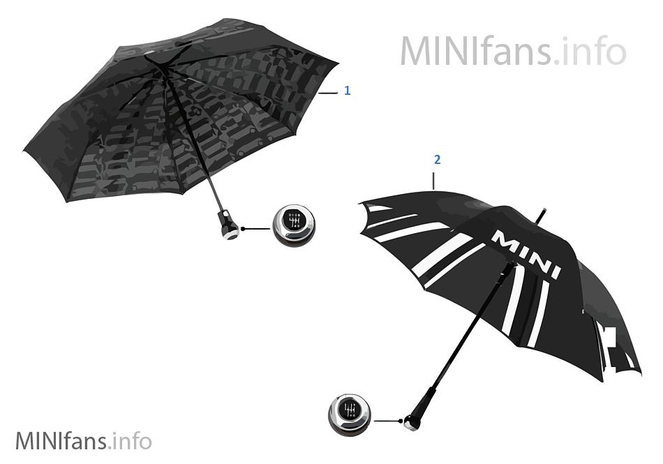 MINI Essentials paraguas 13/14