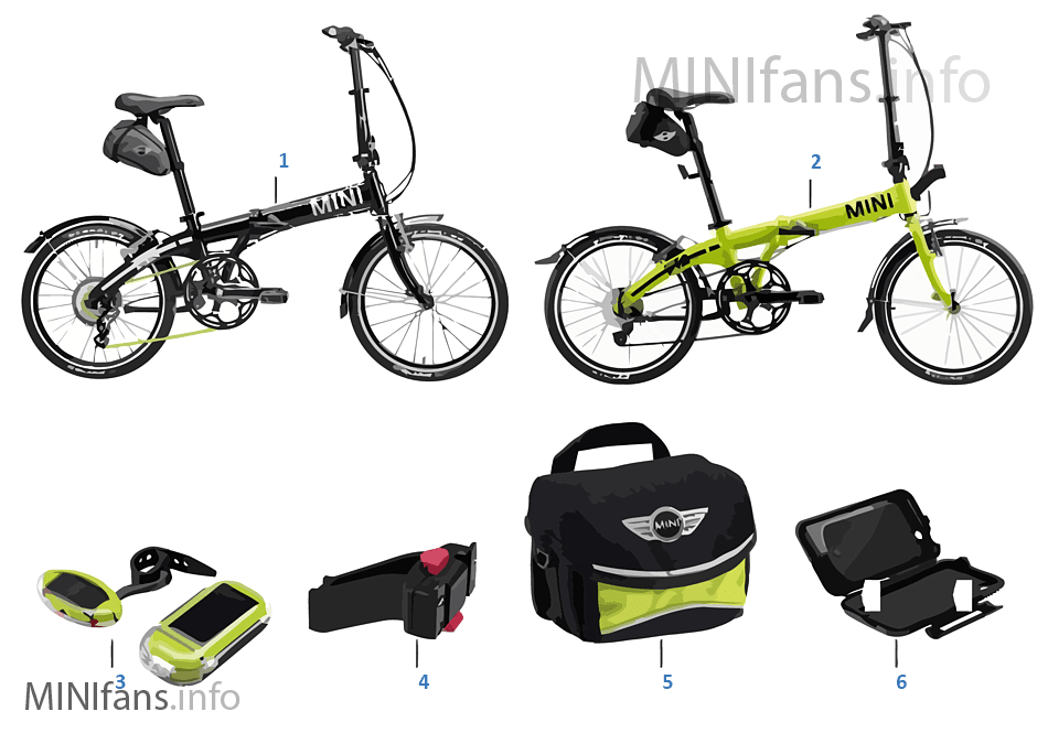 MINI Bikes & Equipment 2013-16