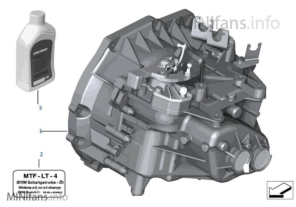 手動變速箱 GS6-55BG