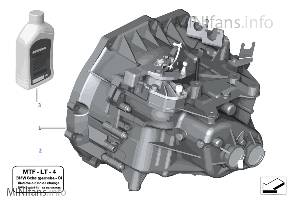 Manual Transmission GS6-55BG