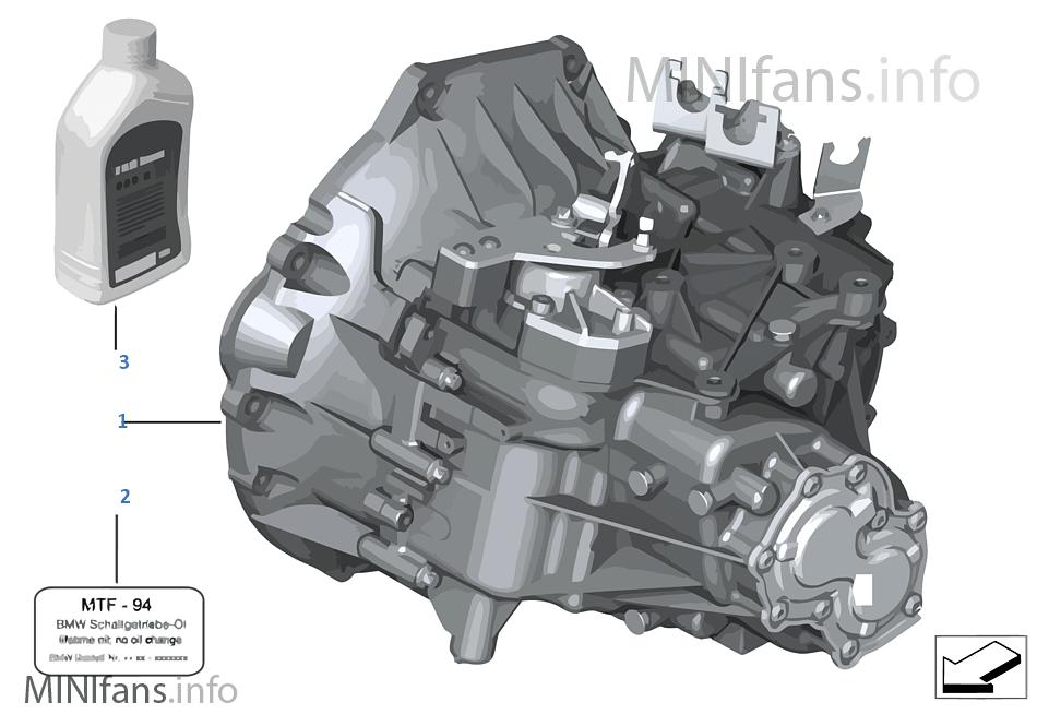 Ręczna skrzynia biegów GS6-53DG