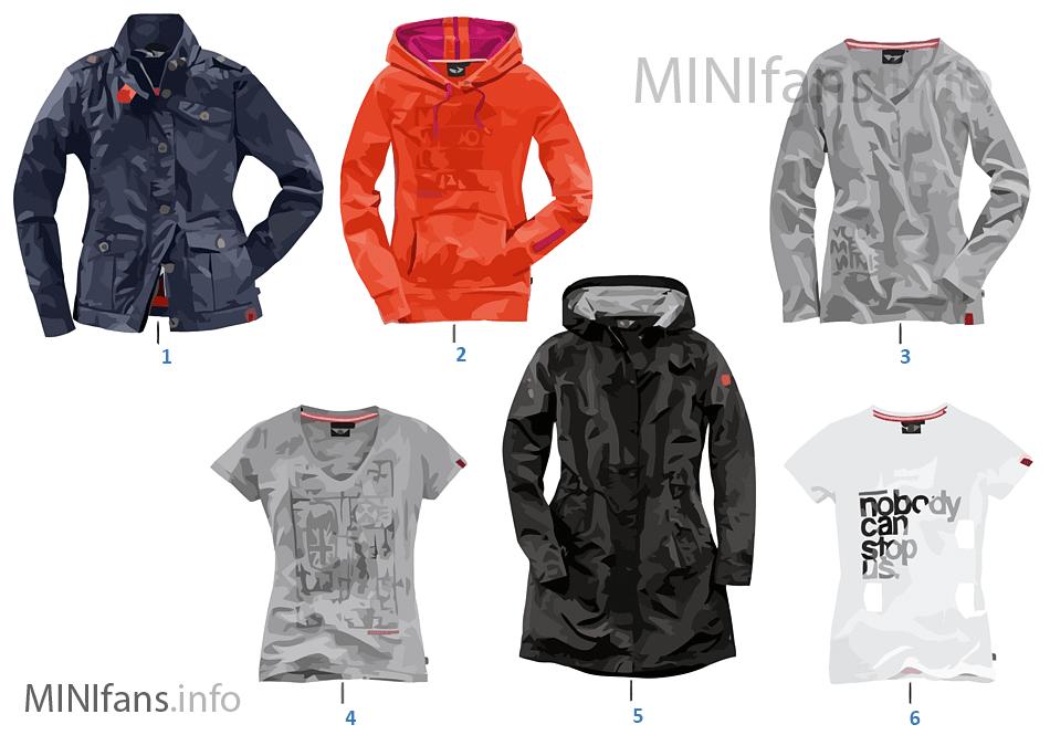 Fashion Line MINI - textil señora 14/16