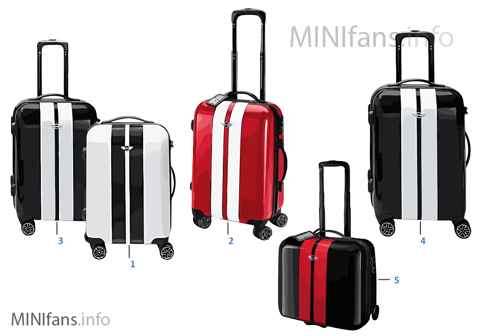 Bags MINI - maletas/trolleys 14/16