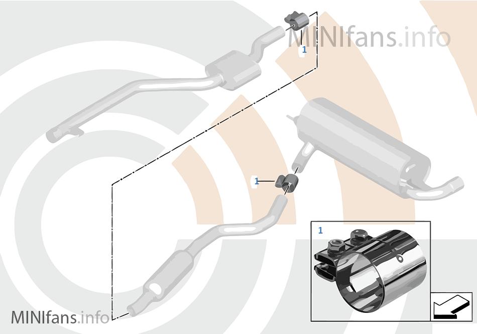 Kit de reparación casquillo tensor