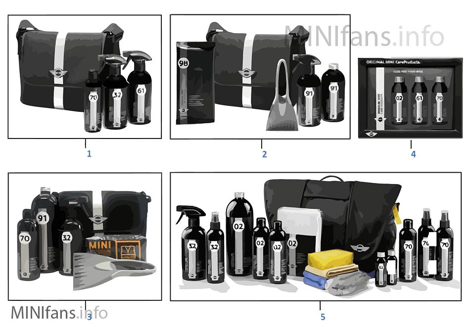 Kits de produtos de conservação