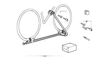 Fahrradhalterung