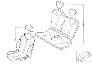 Sitzbezug MINI Design