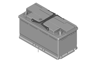 Аккумулятор MINI фирм. с электролитом