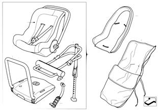 MINI Baby Seat 0+ ISOFIX