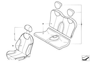 Ledernachrüstung Modell MONO/TWIN
