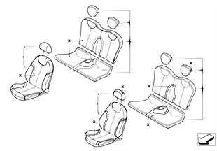 Ledernachrüstung mit Sitzheizung