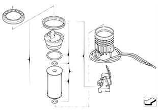 燃油濾清器 / 油位傳感器 右