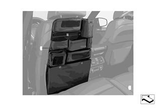 Seat-back storage pocket