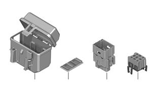 Caja fusibles/soporte rele