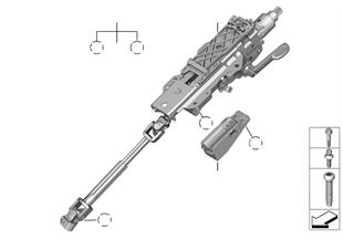 Lenksäulenverstellung mechanisch