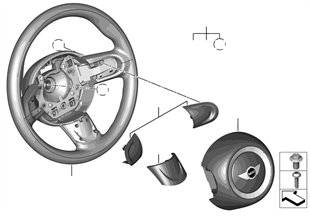 Sportlenkrad Airbag