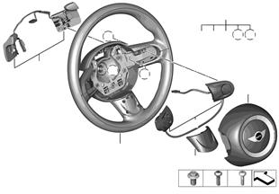 М/ф спорт.рул.колесо, НПБ, переключ.КПП