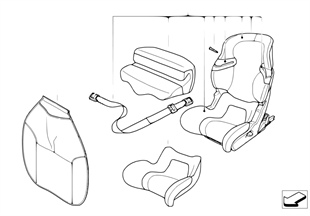 MINI Junior Seat I-II ISOFIX