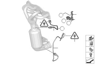 Sonda lambda/peças adicionais