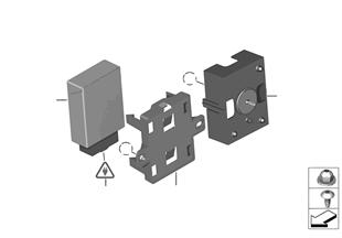 ЭБУ модуля подключения электрооб.прицепа