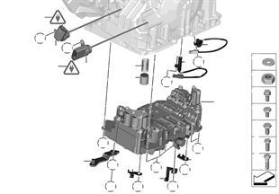 GA6F21WA - スイッチ ユニット/組付部品