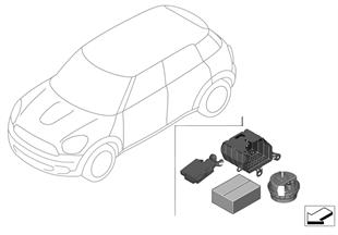 Retrofit kit, theft alarm