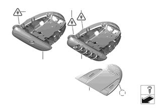 Выключатель панели управления в крыше