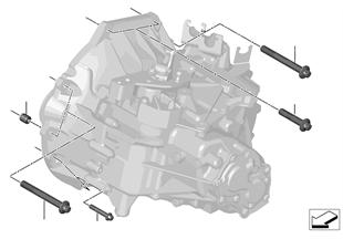 Κιβώτιο ταχυτήτων βάση στερέωσης