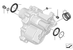 Engranaje distrib. componentes PTO