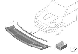 Osł. przednia pojazdu, dolna