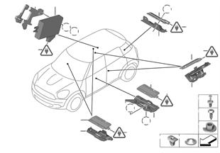 ЭБУ/антенны системы Passiv Access