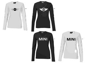 MINI Logo Line-Damen Longsleeve 2010/11